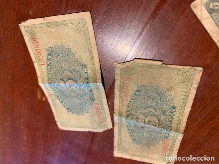 Billetes españoles: Gran lote de billetes antiguos Burgos 500,50,100 pesetas 1938-1936 - Foto 23 - 260077715