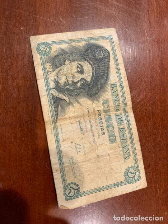 Billetes españoles: Gran lote de billetes antiguos Burgos 500,50,100 pesetas 1938-1936 - Foto 27 - 260077715