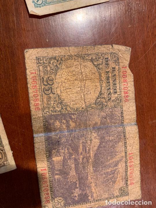 Billetes españoles: Gran lote de billetes antiguos Burgos 500,50,100 pesetas 1938-1936 - Foto 28 - 260077715