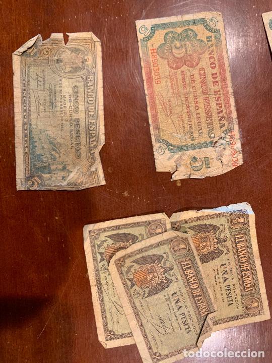 Billetes españoles: Gran lote de billetes antiguos Burgos 500,50,100 pesetas 1938-1936 - Foto 29 - 260077715