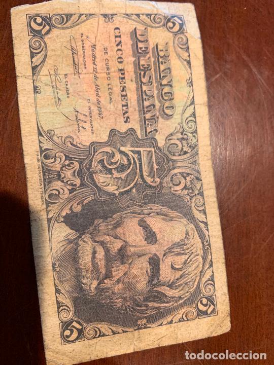 Billetes españoles: Gran lote de billetes antiguos Burgos 500,50,100 pesetas 1938-1936 - Foto 30 - 260077715