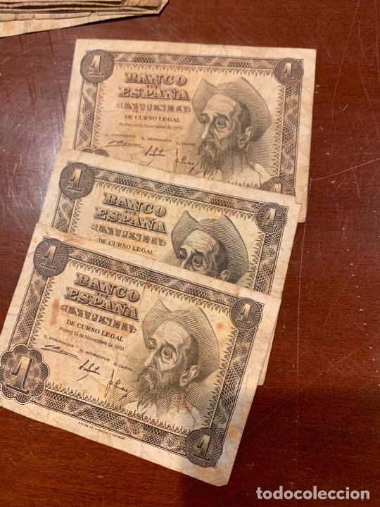 Billetes españoles: Gran lote de billetes antiguos Burgos 500,50,100 pesetas 1938-1936 - Foto 32 - 260077715