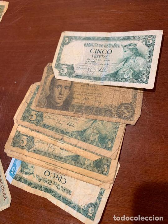 Billetes españoles: Gran lote de billetes antiguos Burgos 500,50,100 pesetas 1938-1936 - Foto 33 - 260077715