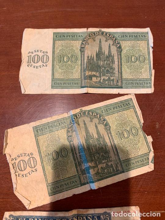 Billetes españoles: Gran lote de billetes antiguos Burgos 500,50,100 pesetas 1938-1936 - Foto 36 - 260077715