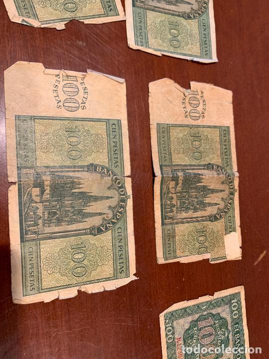 Billetes españoles: Gran lote de billetes antiguos Burgos 500,50,100 pesetas 1938-1936 - Foto 37 - 260077715