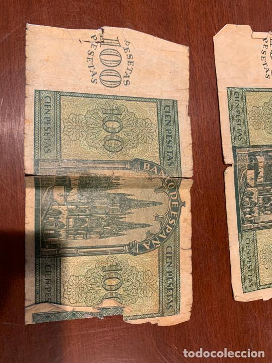 Billetes españoles: Gran lote de billetes antiguos Burgos 500,50,100 pesetas 1938-1936 - Foto 38 - 260077715