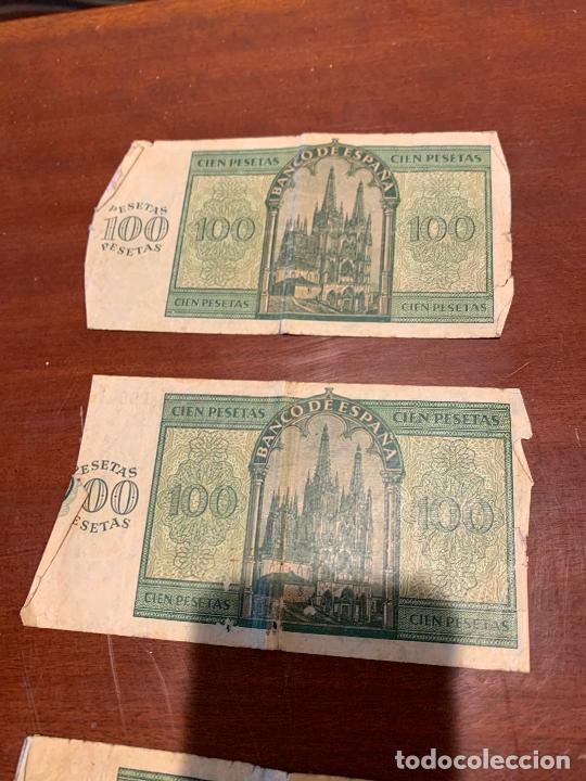 Billetes españoles: Gran lote de billetes antiguos Burgos 500,50,100 pesetas 1938-1936 - Foto 47 - 260077715