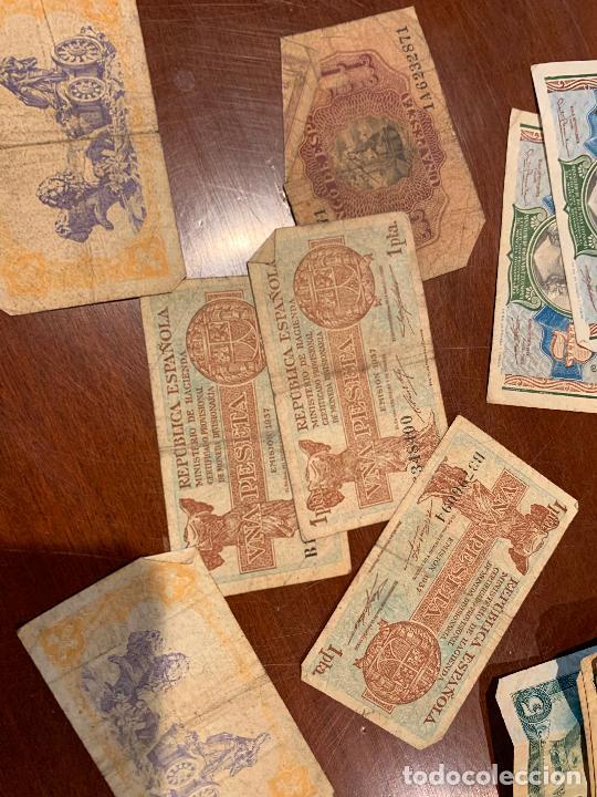 Billetes españoles: Gran lote de billetes antiguos Burgos 500,50,100 pesetas 1938-1936 - Foto 48 - 260077715