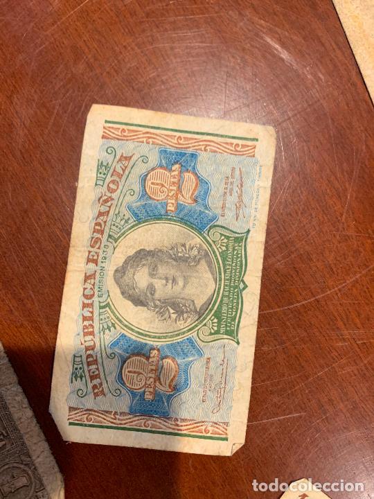 Billetes españoles: Gran lote de billetes antiguos Burgos 500,50,100 pesetas 1938-1936 - Foto 49 - 260077715