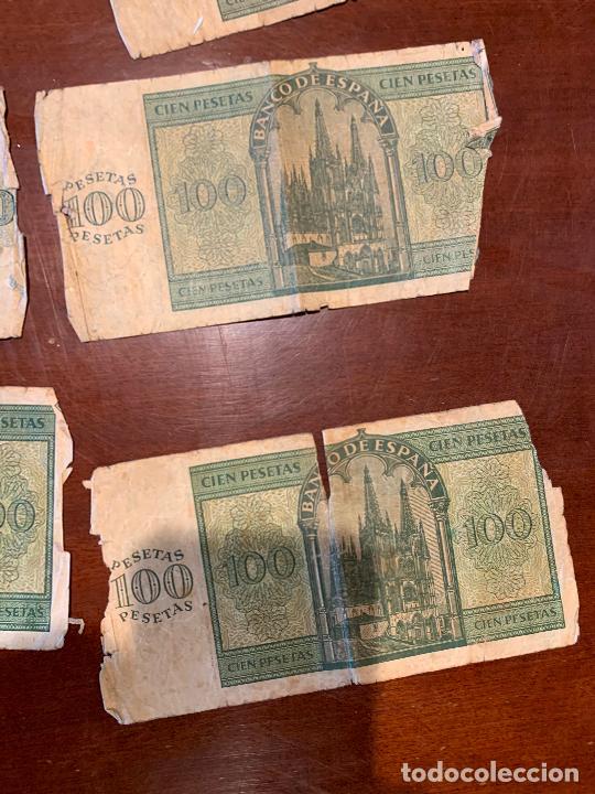 Billetes españoles: Gran lote de billetes antiguos Burgos 500,50,100 pesetas 1938-1936 - Foto 51 - 260077715