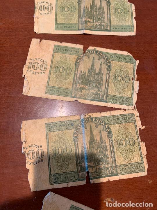 Billetes españoles: Gran lote de billetes antiguos Burgos 500,50,100 pesetas 1938-1936 - Foto 58 - 260077715