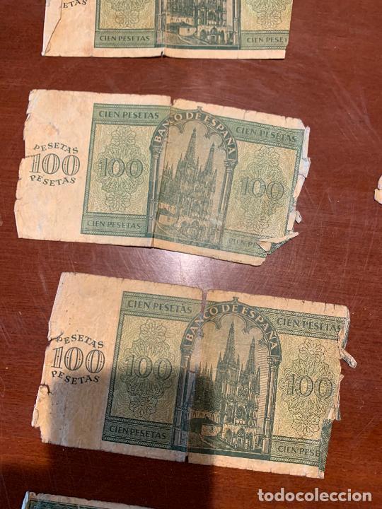 Billetes españoles: Gran lote de billetes antiguos Burgos 500,50,100 pesetas 1938-1936 - Foto 60 - 260077715