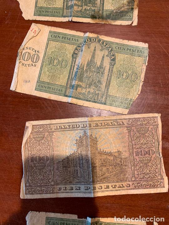 Billetes españoles: Gran lote de billetes antiguos Burgos 500,50,100 pesetas 1938-1936 - Foto 62 - 260077715