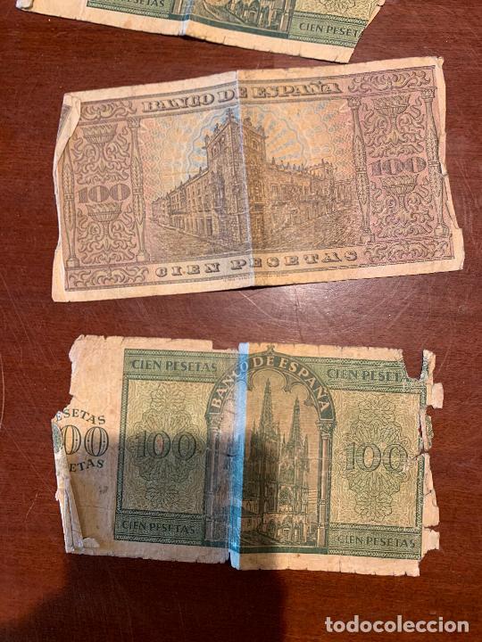 Billetes españoles: Gran lote de billetes antiguos Burgos 500,50,100 pesetas 1938-1936 - Foto 63 - 260077715