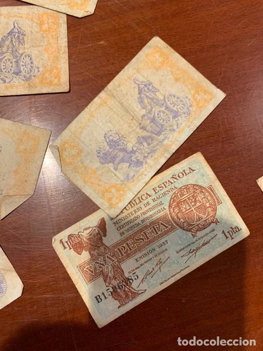 Billetes españoles: Gran lote de billetes antiguos Burgos 500,50,100 pesetas 1938-1936 - Foto 64 - 260077715
