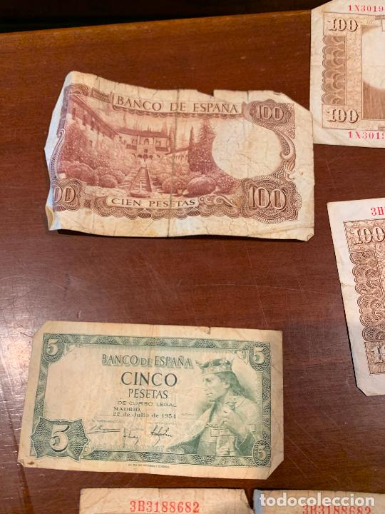 Billetes españoles: Gran lote de billetes antiguos Burgos 500,50,100 pesetas 1938-1936 - Foto 77 - 260077715