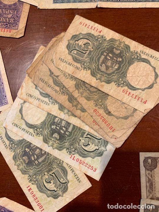 Billetes españoles: Gran lote de billetes antiguos Burgos 500,50,100 pesetas 1938-1936 - Foto 78 - 260077715