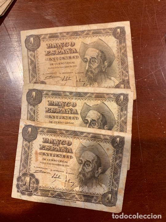Billetes españoles: Gran lote de billetes antiguos Burgos 500,50,100 pesetas 1938-1936 - Foto 79 - 260077715