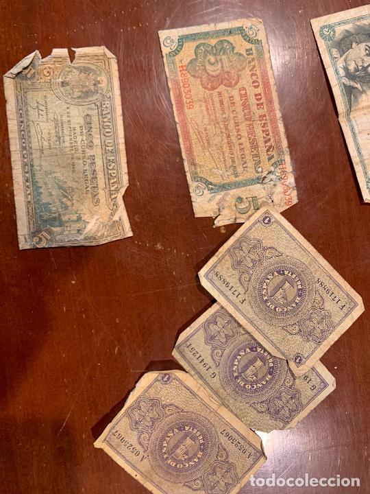Billetes españoles: Gran lote de billetes antiguos Burgos 500,50,100 pesetas 1938-1936 - Foto 82 - 260077715