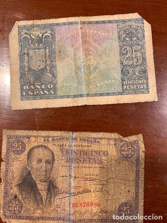 Billetes españoles: Gran lote de billetes antiguos Burgos 500,50,100 pesetas 1938-1936 - Foto 85 - 260077715