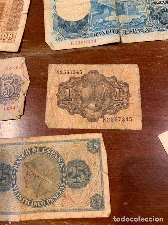Billetes españoles: Gran lote de billetes antiguos Burgos 500,50,100 pesetas 1938-1936 - Foto 89 - 260077715