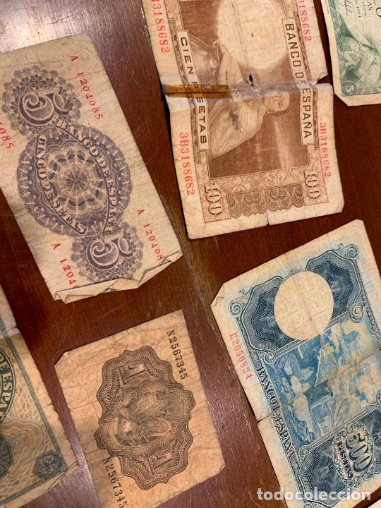 Billetes españoles: Gran lote de billetes antiguos Burgos 500,50,100 pesetas 1938-1936 - Foto 90 - 260077715