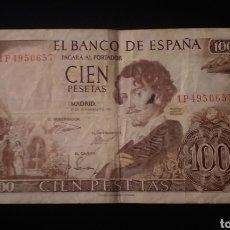 Billets espagnols: BILLETE DE 100 PESETAS ESPAÑA AÑO 1965. Lote 261614485