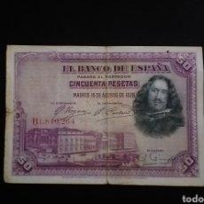 Billetes españoles: BILLETE DE 100 PESETAS ESPAÑA AÑO 1928. Lote 262006580