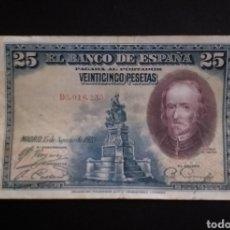 Billetes españoles: BILLETE DE 25 PESETAS ESPAÑA 1928. Lote 262489775