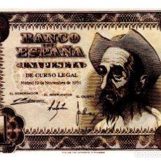 Billetes españoles: BILLETE DE ESPAÑA DE 1 PESETA DE 1951 BUEN ESTADO EL QUIJOTE. Lote 262506965