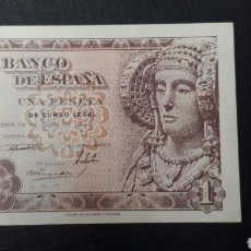Billetes españoles: 1 PESETA 1948 SC SERIE D. Lote 263097255