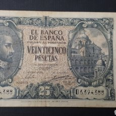 Billetes españoles: 25 PESETAS 1940 MBC+/MBC. Lote 263097900