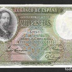 Spanische Banknoten: 1000 PESETAS 1931 SIN SERIE S/C-. Lote 253647145