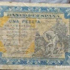 Banconote spagnole: 1 PESETA 1940 (SERIE B). Lote 262428805