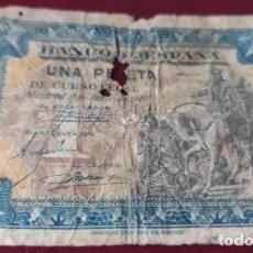 Banconote spagnole: 1 PESETA 1940 (SERIE E). Lote 237869795