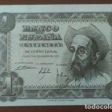 Banconote spagnole: 1 PESETA 1951 ( SERIE L) EBC+. Lote 253311385