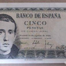 Banconote spagnole: 1 PESETA 1951 (SERIE 1E) MBC. Lote 265481509