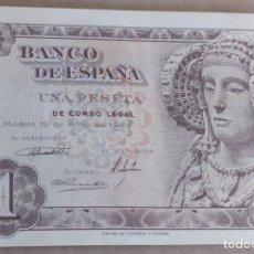 Notas espanholas: 1 PESETA 1948 ( SERIE G ) EBC. Lote 265483999