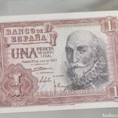 Banconote spagnole: BILLETE DE ESPAÑA 1 PESETA 1953 SERIE L. Lote 267200649