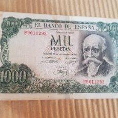 Banconote spagnole: 1000 PESETAS ESPAÑA. Lote 267513584