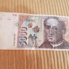 Banconote spagnole: 5000 PESETAS ESPAÑA. Lote 267513949