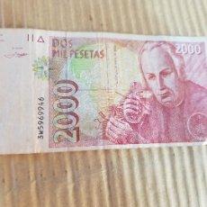 Banconote spagnole: 2000 PESETAS ESPAÑA. Lote 267514019