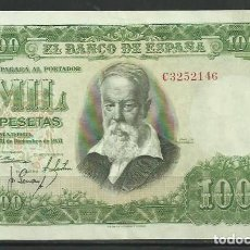 Banconote spagnole: BILLETE DE 1000 PESETAS DE 1951 . JOAQUIN SOROLLA (MUY BONITO). Lote 268143029
