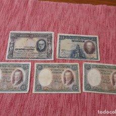 Banconote spagnole: LOTE BILLETES ANTIGUOS ESPAÑOLES. 4. Lote 268156439