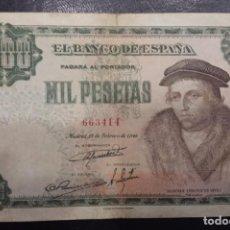 Banconote spagnole: EDIFIL 456. 100 PTAS 19 DE FEBRERO DE 1946. CONSERVACIÓN BC.. Lote 268272384