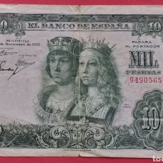 Banconote spagnole: ESPAÑA 1000 PESETAS 1957. Lote 268400179