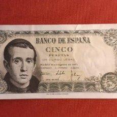 Banconote spagnole: ESTADO ESPAÑOL, 5 PESETAS 16 DE AGOSTO 1951. SERIE Y. Lote 268889769