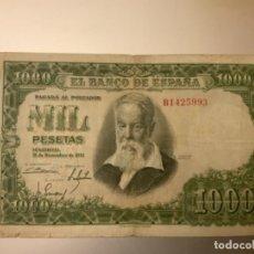 Billetes españoles: BILLETE 1000 PESETAS 1951. SERIE B. Lote 269176138