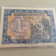 Billetes españoles: BILLETE 1 PTAS AÑO 1940 SERIE A SC-. Lote 269844343