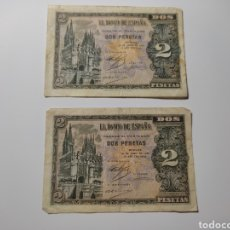 Billetes españoles: BILLETE 2 PESETAS 30 DE ABRIL 1938 BURGOS. Lote 269845173